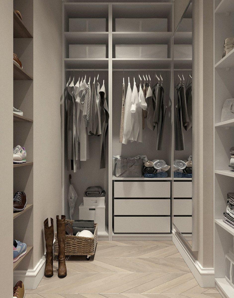 A custom closet reduces your stress levels